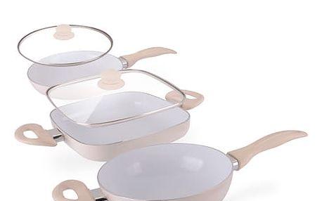 Keramické Pánve Ceramic Chef Pan Elegance Edition 5 kusů