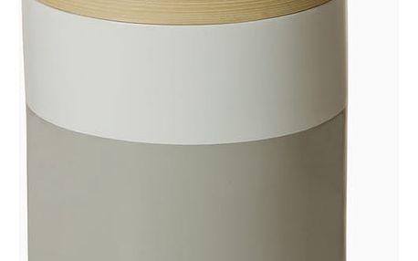 Šedo-bílá bambusová krabice by Homania