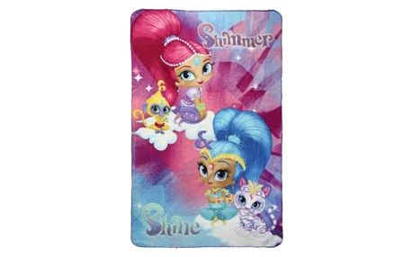 Flaušová deka Shimmer and Shine 662