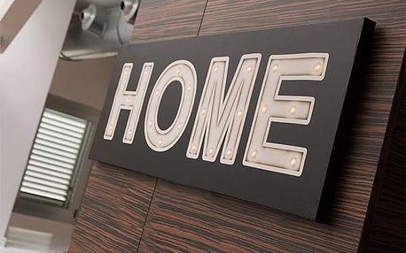Obraz na Plátně s LED Světýlky Home