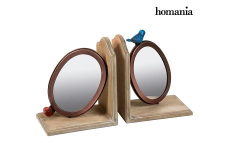 Bookend Jedle Bird 2 pcs by Homania