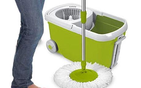 Kong Mop Rotační Mop s Kýblem na Kolečkách