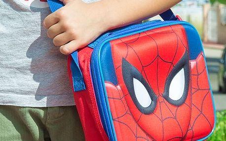Termotaška přes Rameno na Svačinu Spiderman