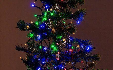 Barevné Vánoční Osvětlení 96 LED