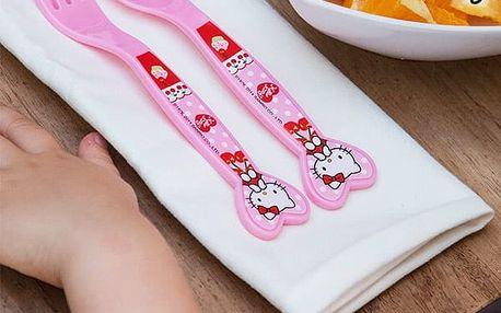 Vidlička a Lžička Hello Kitty