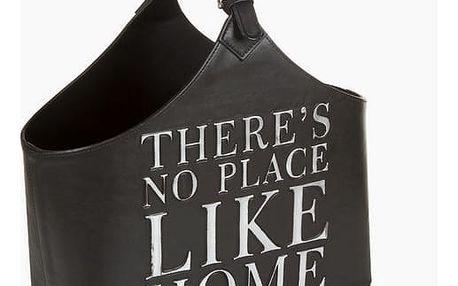 Černý stojan na časopisy by Homania
