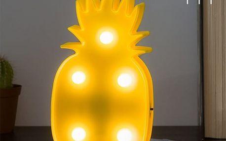 Nástěnná LED Lampička Ananas Wagon Trend 5 LED