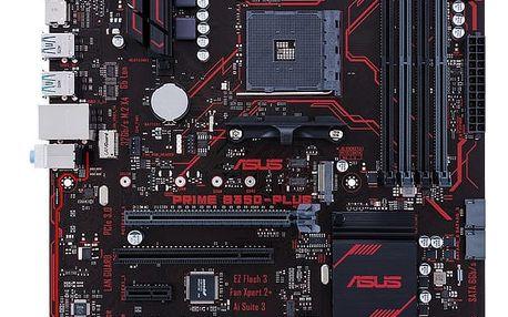 ASUS PRIME B350-PLUS - AMD B350 - 90MB0TG0-M0EAY0