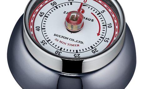 Zassenhaus Kuchyňská magnetická minutka Speed dřevěné uhlí