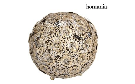 Gold flower a butterfly ball - Art + Metal Kolekce by Homania