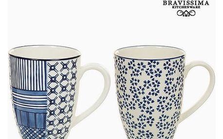 Set 2 Hrnků Porcelán Modrý 2 pcs - Queen Kitchen Kolekce by Bravissima Kitchen
