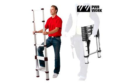 XXL Ladder Skládací Teleskopický Žebřík