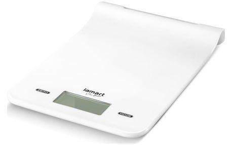 Lamart Digitální váha kuchyňská do 5 kg bílá Masse LT7023