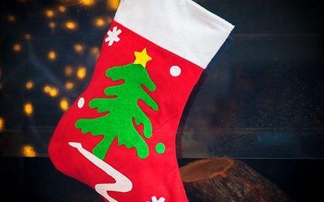 Vánoční Punčocha 31 cm