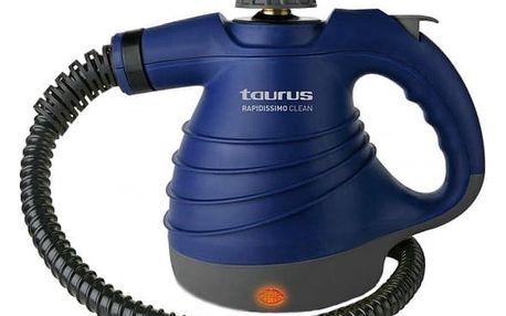 Parní čistič Taurus Rapidissimo Clean New 3 bar 0,350 L 1050W Modrý