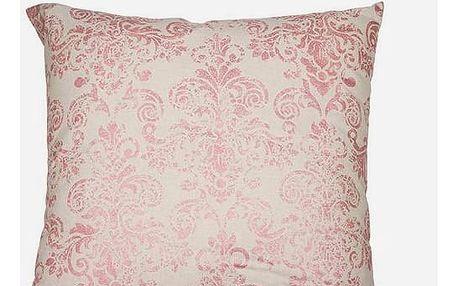 Polštářek Růžový 60 x 60 cm - Cities Kolekce by Loom In Bloom