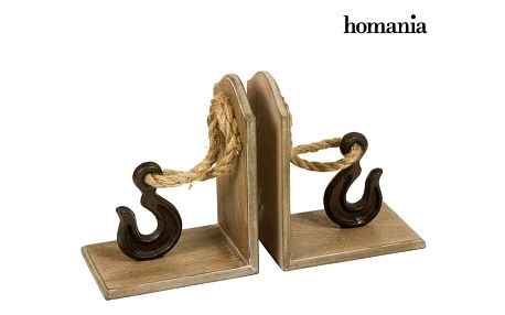 Bookend Jedle Háček 2 pcs by Homania