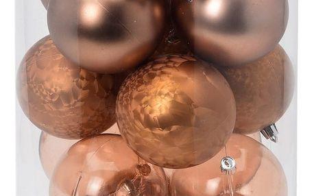 Vánoční ozdobné koule Noel, pr. 7 cm