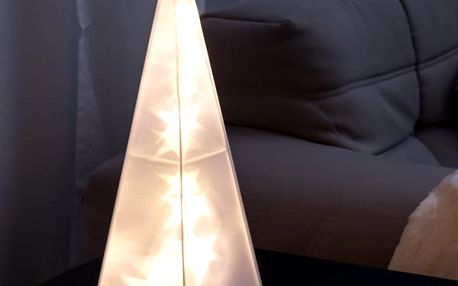 Dekorativní Pyramida 16 LED