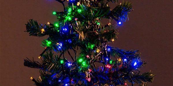 Barevné Vánoční Osvětlení 40 LED