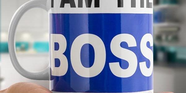 XL Hrnek I am the Boss