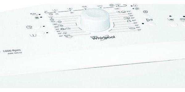 Automatická pračka Whirlpool AWE 50510 bílá2