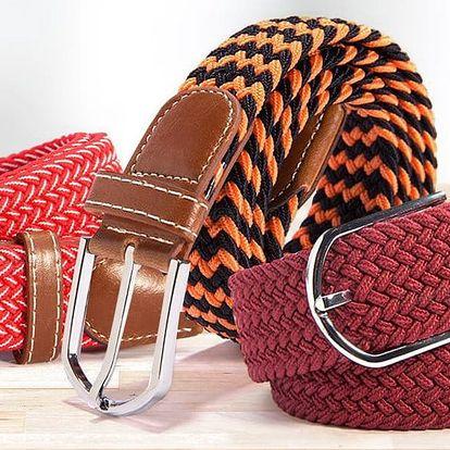 Elastické pletené pásky s kovovou sponou