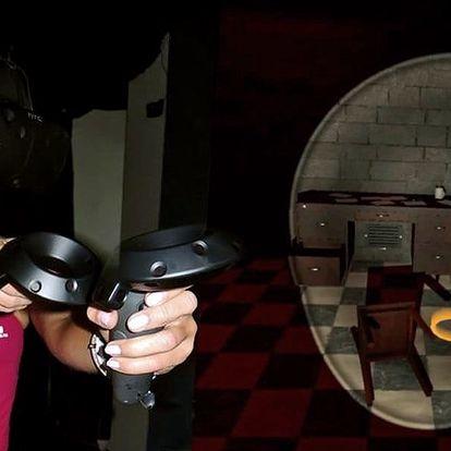 Úniková hra ve virtuální realitě až pro 4 hráče