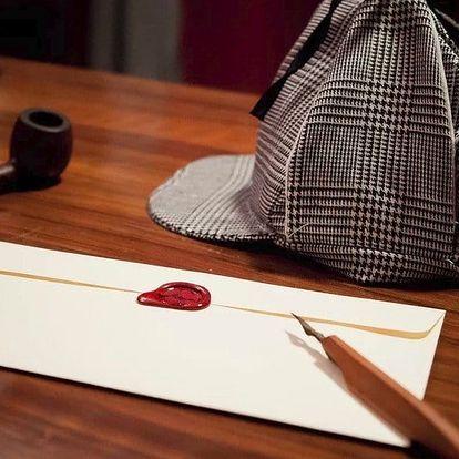 Úniková hra-Sherlockova kancelář