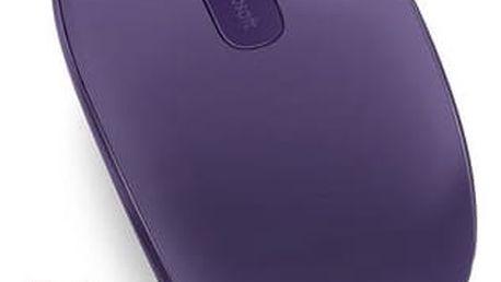 Myš Microsoft 1850 Purple (U7Z-00044) / optická / 2 tlačítka / 1000dpi