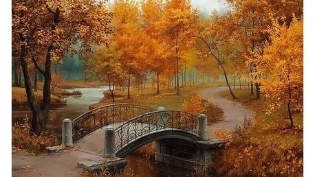 Vymaluj si sám podzimní krajinu