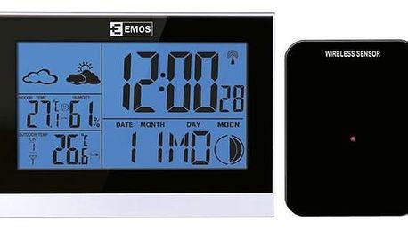 Meteorologická stanice EMOS E3070 černá