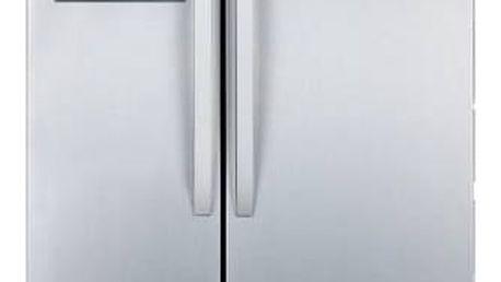 Kombinace chladničky s mrazničkou Hotpoint-Ariston SXBD 920 F stříbrná + Doprava zdarma