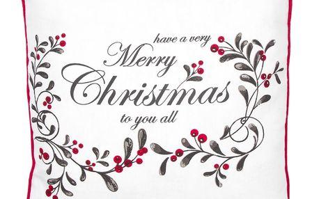 Altom Povlak na polštářek Christmas, 40 x 40 cm