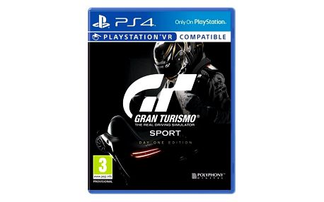 Hra Sony Gran Turismo Sport + Digitální bonusový balíček (PS719832652)