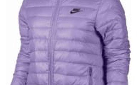Dámská bunda Nike W NSW DWN FLL JKT HD | 805082-501 | Fialová | S