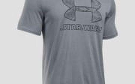 Pánské tričko Under Armour Star Wars SportStyle Fill | 273686-035 | Šedá | M
