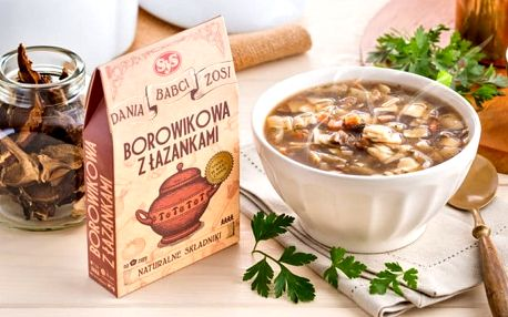 4 porce instantní veganské polévky různé druhy bez chemie od Babči Zoši
