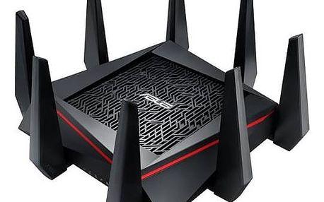Router Asus RT-AC5300 (90IG0201-BN2G00) černý ASUS – Rondo kupon (zdarma) + Doprava zdarma