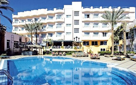 Hotel Sea Garden, Hurghada, Egypt, letecky, polopenze