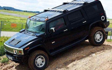 Jízda Hummerem Příbram Jízda Hummerem H2 řízení legendárního offroadu