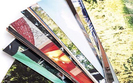 10 ks maxi fotografií v rozměrech 20x30 cm nebo 30x40 cm vytištěných na lesklý papír.
