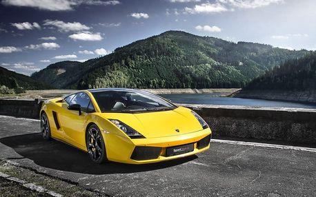Jízda v Lamborghini Gallardo Lamborghini Gallardo (Ostrava 15) za volantem supersportovního vozu