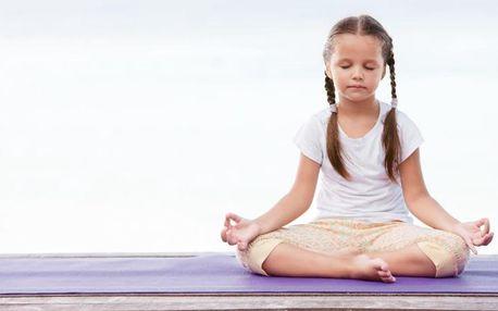 1 nebo 3 lekce dětské jógy