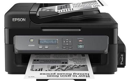 Tiskárna multifunkční Epson M200, CIS (C11CC83301) černá A4, 34str./min, 1440 x 720, USB + DOPRAVA ZDARMA