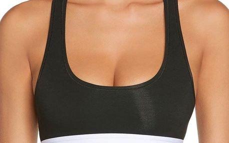 Dámská sportovní podprsenka Calvin Klein Modern Cotton černá M