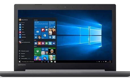 Notebook Lenovo 320-15IAP (80XR0103CK) šedý Software Microsoft Office 365 pro jednotlivce CZ + Software F-Secure SAFE, 3 zařízení / 6 měsíců + Monitorovací software Pinya Guard - licence na 6 měsíců v hodnotě 2 278 Kč + DOPRAVA ZDARMA