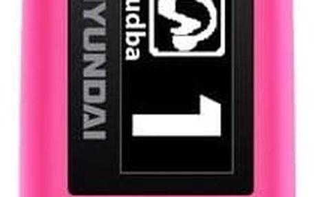 MP3 přehrávač Hyundai MP 366 GB4 FM P růžový