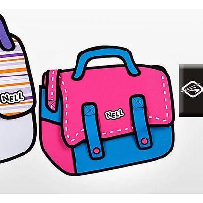 Komiksové tašky Nell 2D