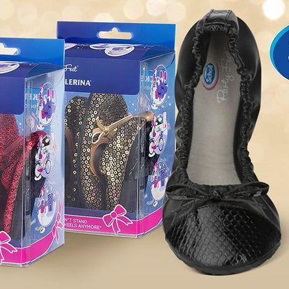 Vždy připraveny: skládací balerínky Scholl